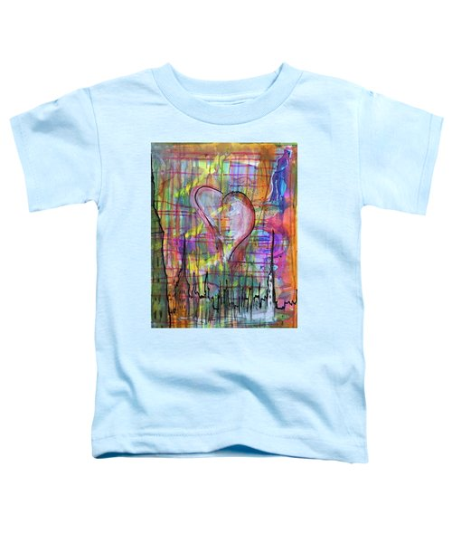 The Heart Of The City Toddler T-Shirt