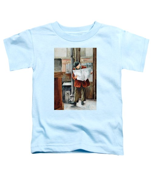 The Latest News Toddler T-Shirt