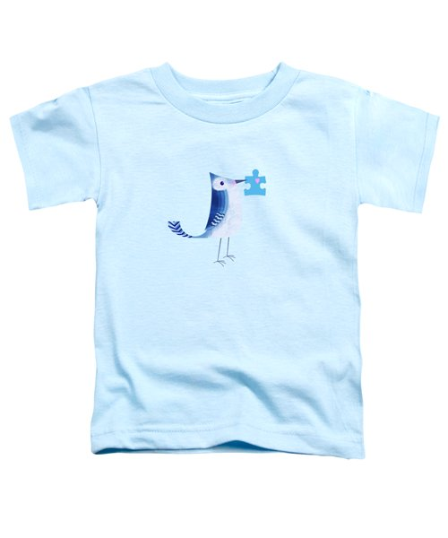 The Letter Blue J Toddler T-Shirt