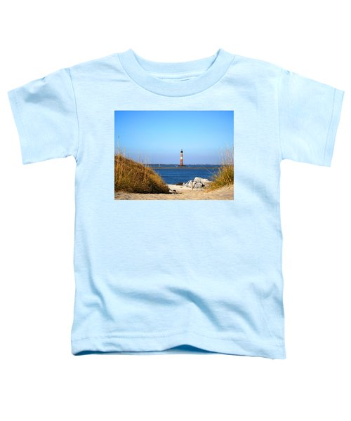 The Lighhouse At Morris Island Charleston Toddler T-Shirt