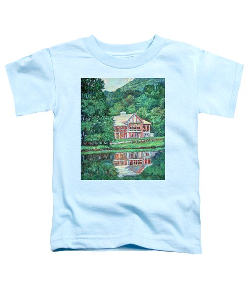 The Lodge At Peaks Of Otter Toddler T-Shirt