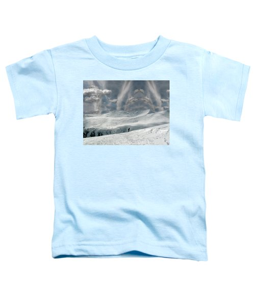 The Lone Boarder Toddler T-Shirt