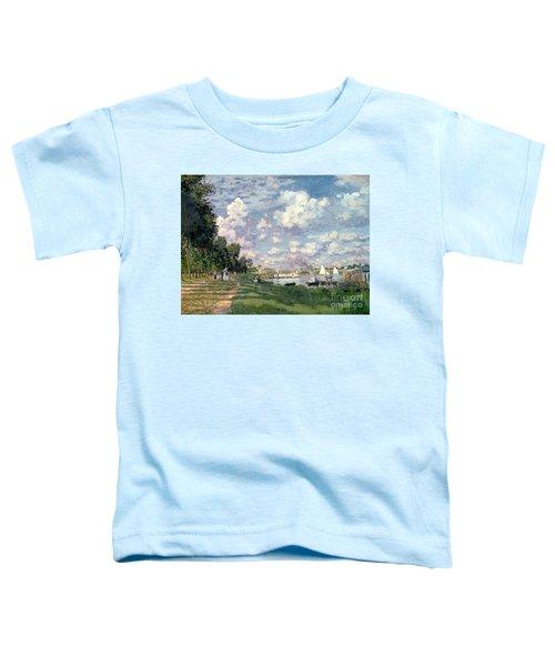 The Marina At Argenteuil Toddler T-Shirt