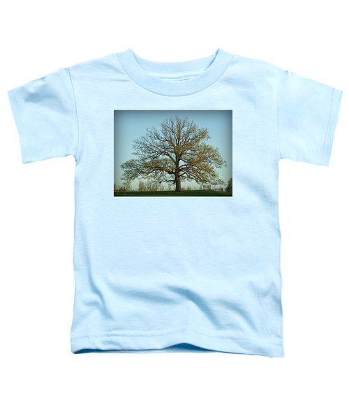 The Mighty Oak In Spring Toddler T-Shirt