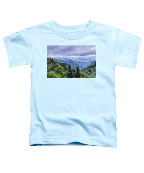 The Mountains Of Great Smoky Mountains National Park Toddler T-Shirt