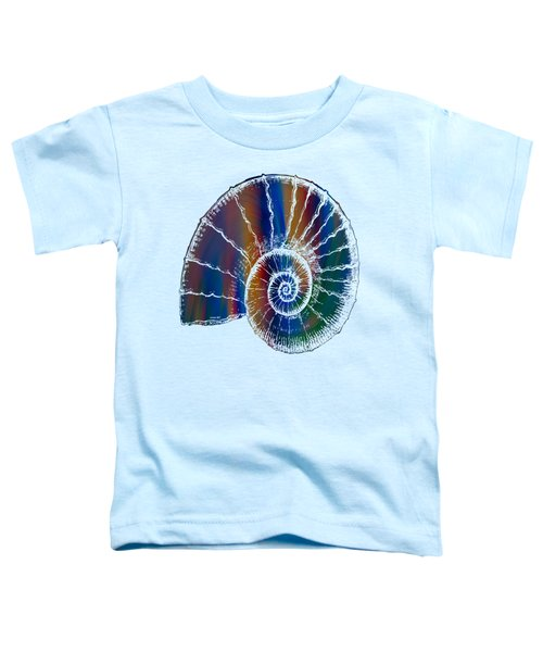 The Nautilus Shell Transparent 2 Toddler T-Shirt