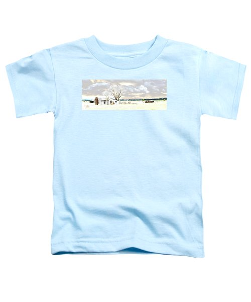 The Old Winter Homestead Toddler T-Shirt