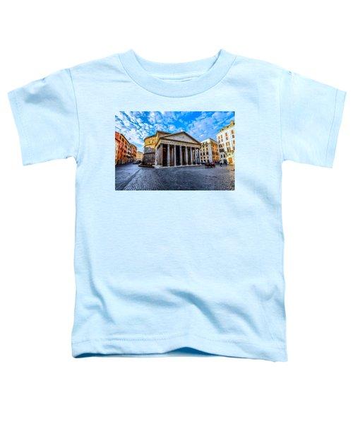 The Pantheon Rome Toddler T-Shirt