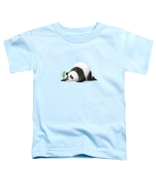 The Patient Panda Toddler T-Shirt