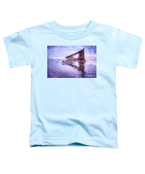 A Stormy Peter Iredale Toddler T-Shirt