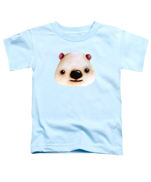 The Polar Bear Toddler T-Shirt by Lucia Stewart