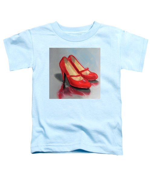 The Red Shoes Toddler T-Shirt