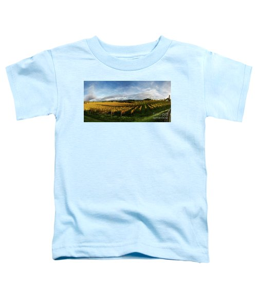 The Rolling Vineyards Of Napa  Toddler T-Shirt