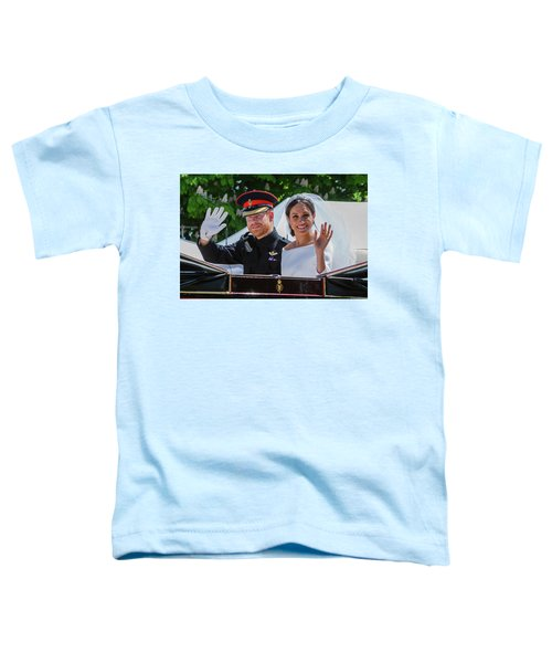 The Royal Wedding Of Prince Harry  To Meghan  Toddler T-Shirt