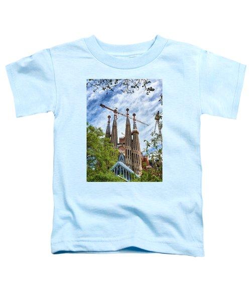 The Sagrada Familia Toddler T-Shirt