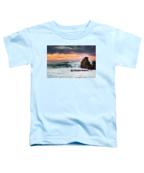 The Sea Against The Rock Toddler T-Shirt