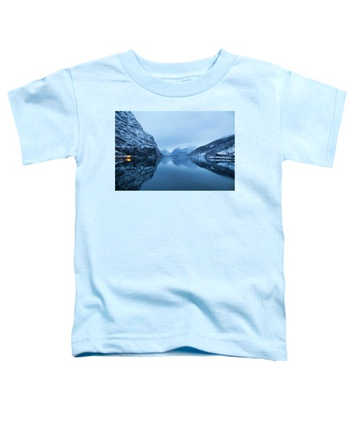 Toddler T-Shirt featuring the photograph The Stillness Of The Sea by David Chandler