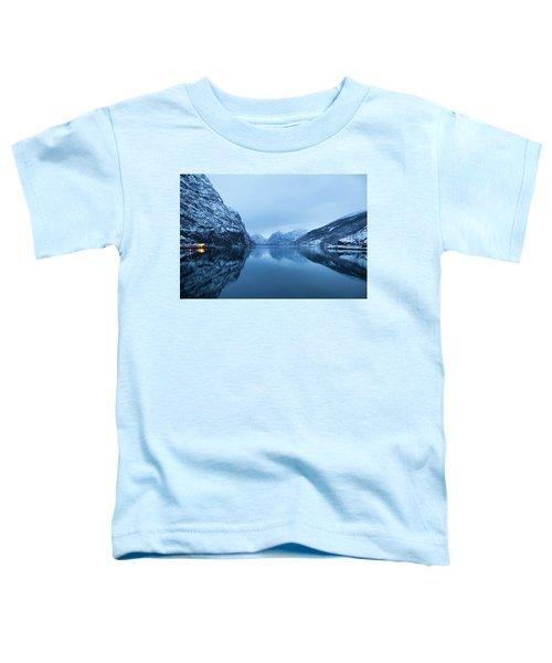 The Stillness Of The Sea Toddler T-Shirt