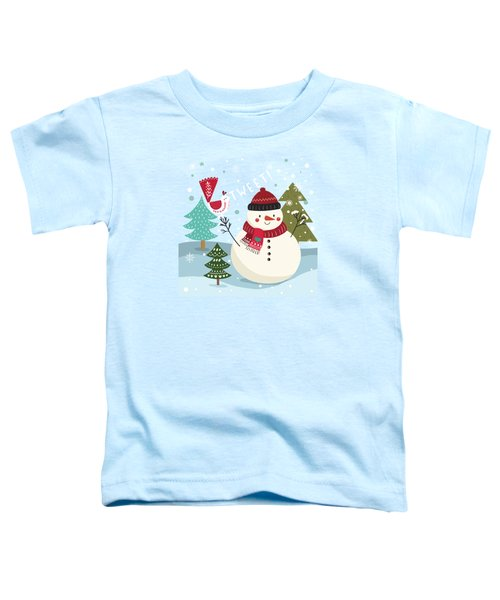The Sweet Song Of Winter Toddler T-Shirt