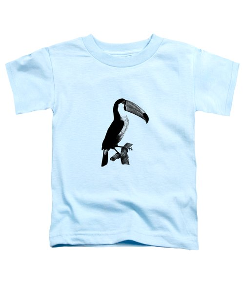 The Toucan Toddler T-Shirt by Mark Rogan
