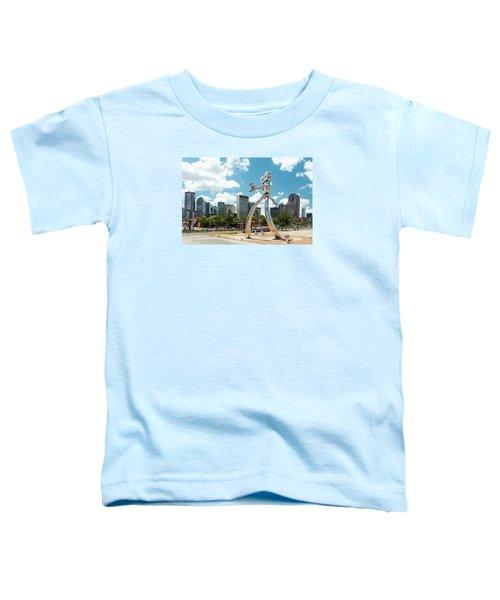 The Traveling Man Dallas 080618 Toddler T-Shirt