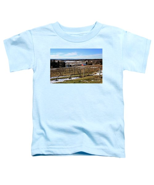 The Vineyard On Old Mission Toddler T-Shirt