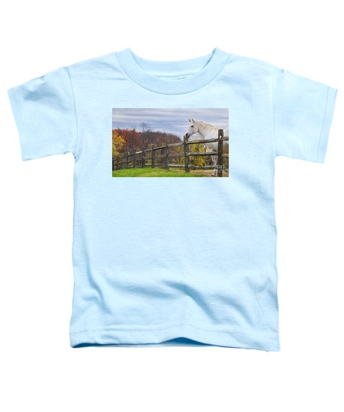 The White Horse Toddler T-Shirt