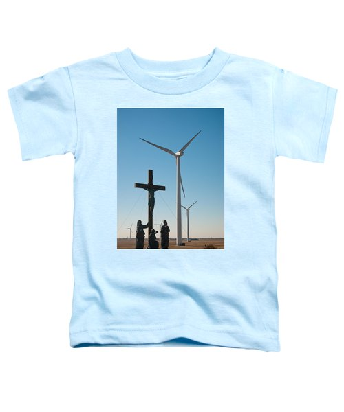 Toddler T-Shirt featuring the photograph The Wind by Carl Young