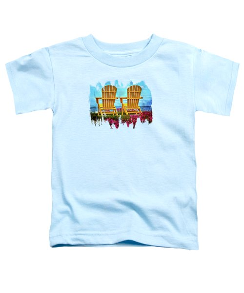 Relaxing By The Sea Toddler T-Shirt