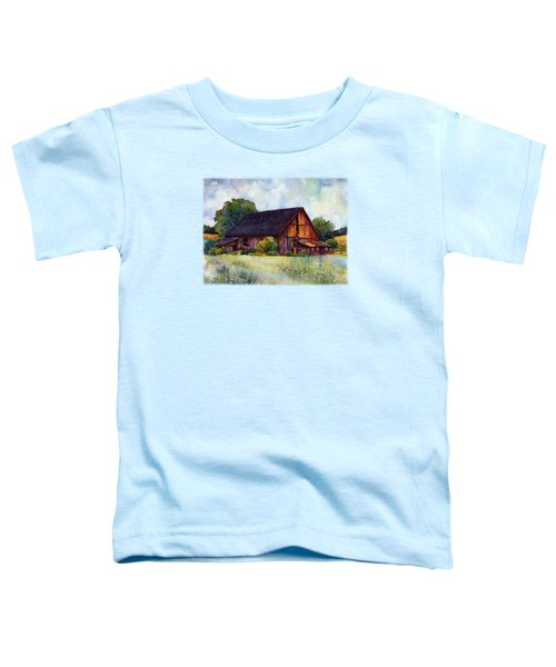 This Old Barn Toddler T-Shirt by Hailey E Herrera