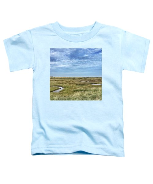 Thornham Marshes, Norfolk Toddler T-Shirt