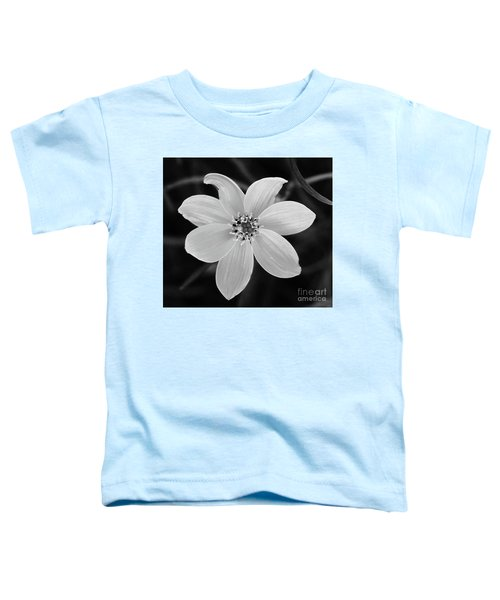 Threadleaf In Black And White Toddler T-Shirt