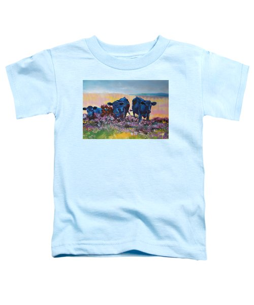 Three Black Cows On Dartmoor Toddler T-Shirt