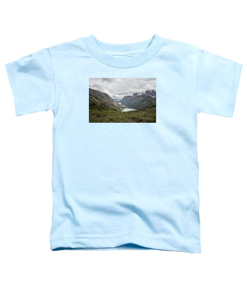 Three Lakes Viewed From Grinnell Glacier Toddler T-Shirt