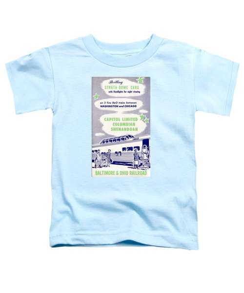Thrilling Strata-dome Cars Toddler T-Shirt