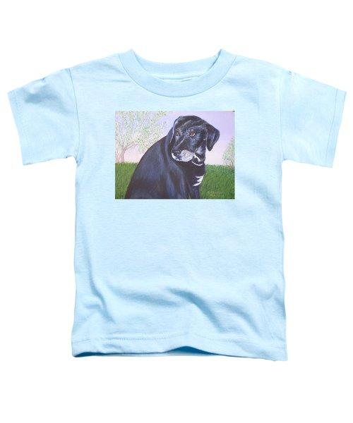 Tiko, Lovable Family Pet. Toddler T-Shirt