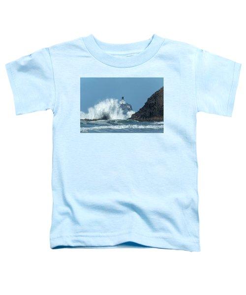 Tillamook Rock Light House, Oregon - Terrible Tilly Toddler T-Shirt