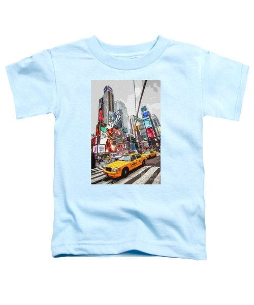 Times Square Pop Art Toddler T-Shirt