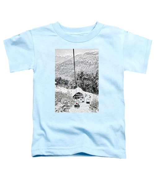 To The Land Of Frozen Dreams In The Argentine Patagonia Toddler T-Shirt