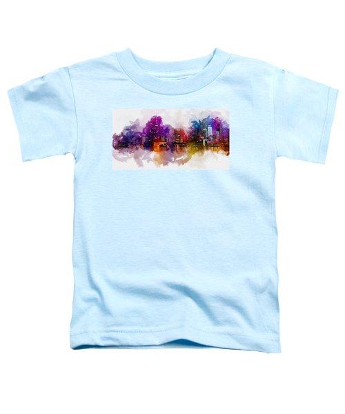 Toronto Canada Skyline Toddler T-Shirt