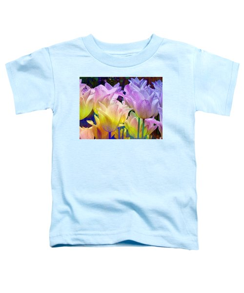 Totally Tulips Two Toddler T-Shirt