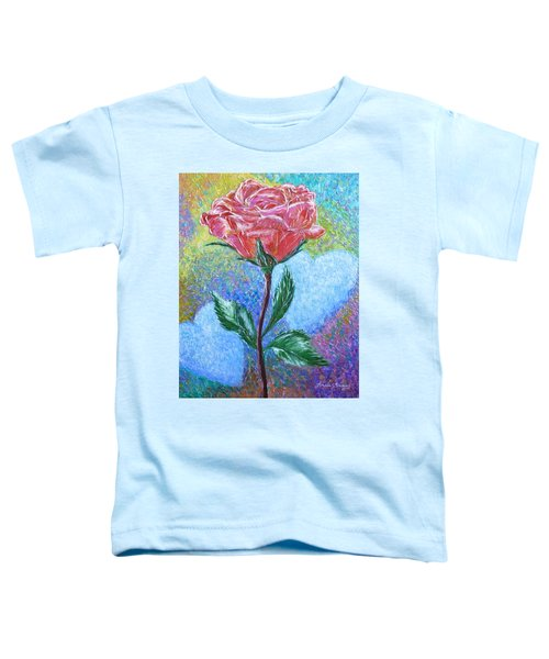 Touched By A Rose Toddler T-Shirt