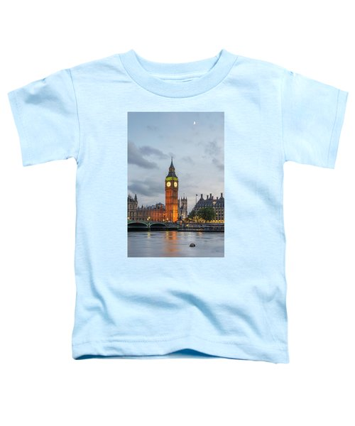 Tower Of London In The Moonlight Toddler T-Shirt