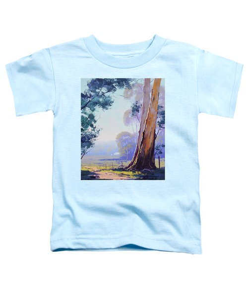 Track To The Farm Toddler T-Shirt