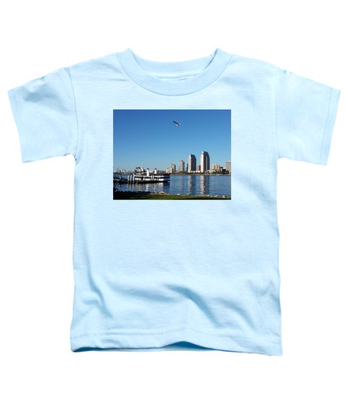 Tranquility By The Bay Toddler T-Shirt
