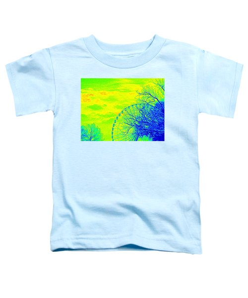 Tree And Ferris Wheel  Toddler T-Shirt