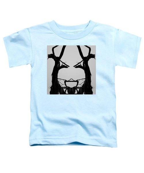 Tree Face I Bw Sq Toddler T-Shirt