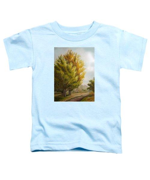 Trees In Boulder Toddler T-Shirt