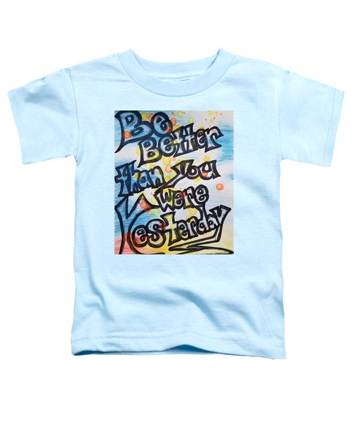 Try Toddler T-Shirt