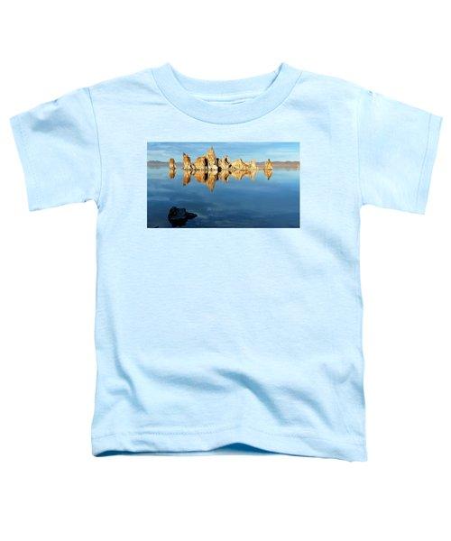 Tufa Reflection At Mono Lake Toddler T-Shirt